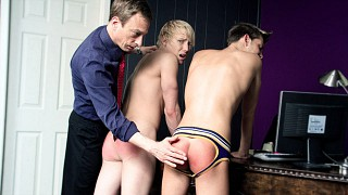 Sterne Spanks Schoolboys Part 2