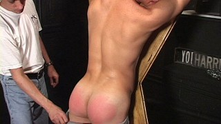 Chris Rhodes Spanked