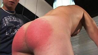 Baileey spanks Dimitri
