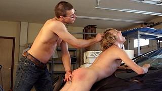 Paul spanks Tommy