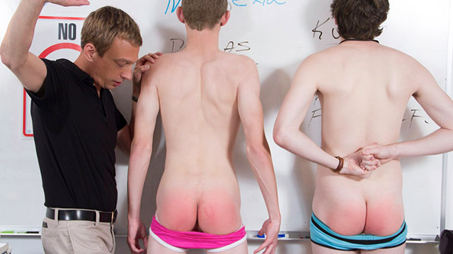 Gay Spanking Boys : Detention Spank Part: 1!